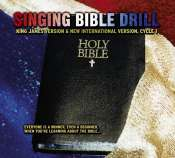 singing bible drill cd cover